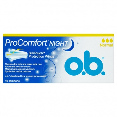 O.B. ProComfort Night tampóny normal 16 ks
