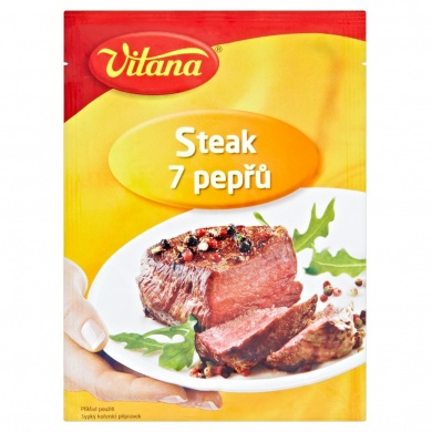 Vitana Steak 7 pepřů 25g