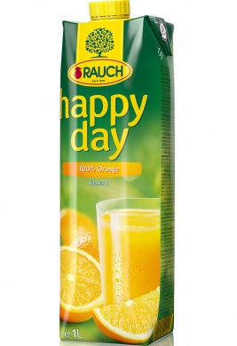 Rauch Happy Day Pomeranč 100% 1l