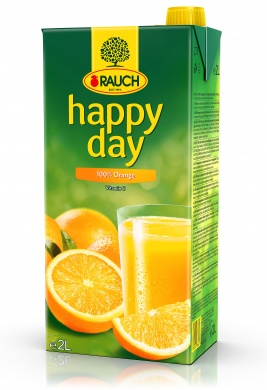 Rauch Happy Day Pomeranč 100% 2l