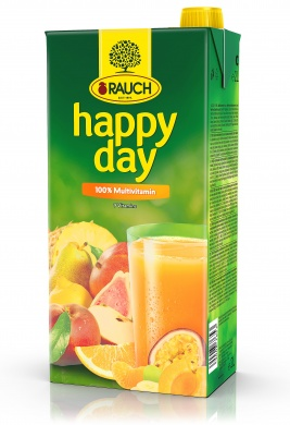 Rauch Happy Day 100% Multivitamín 2l