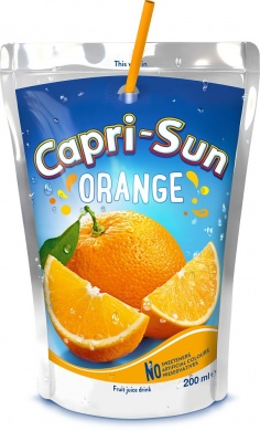 Capri-Sonne Orange Fruit Drink 0,2 l
