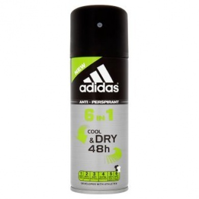 Adidas Cool & dry 48h anti-perspirant 6v1 150ml