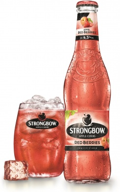 Strongbow Red Berries (4,5%), sklo 0,33l