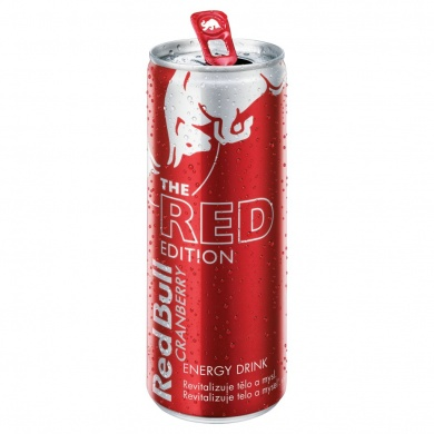 Red Bull The Red edition brusinka 250ml