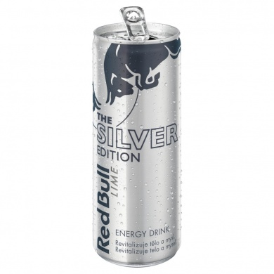 Red Bull The Silver edition limetka 250ml