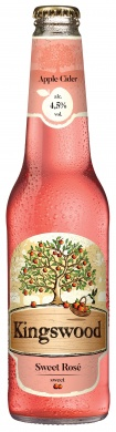 Kingswood Rosé Apple, sklo 0,4l