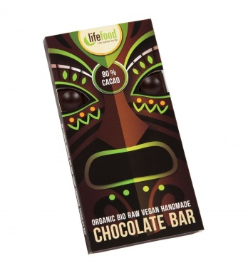 Lifefood Chocolate 80% Cacao BIO 70g