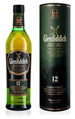 Glenfiddich 12 Years Old whisky 0,7l