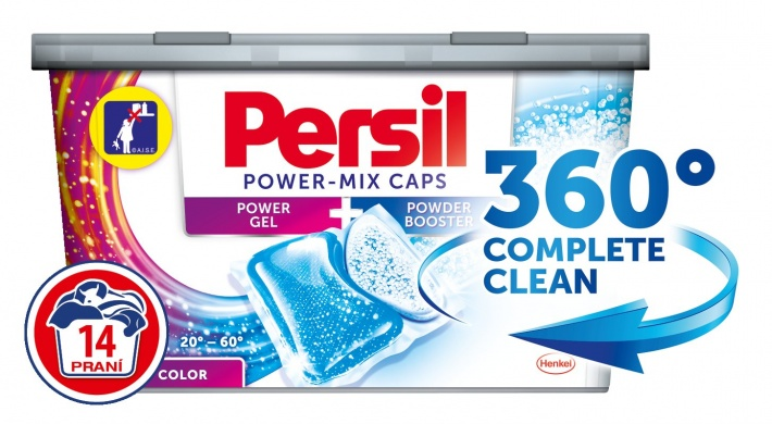 Persil Power Mix caps Color prací kapsle 14ks