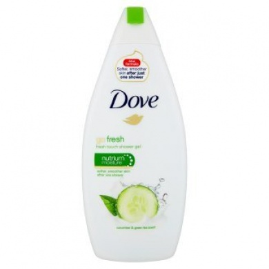 Dove Go Fresh Okurka & zelený čaj sprchový gel 500ml