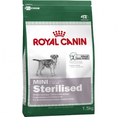 Royal canin mini sterilised granule pro psy 2kg