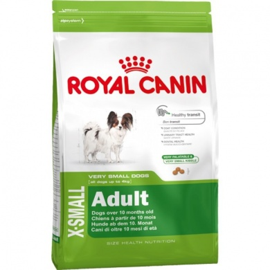 Royal canin X-small adult granule pro psy 3kg