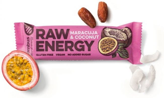 Bombus Raw Energy Maracuja & Coconut 50g