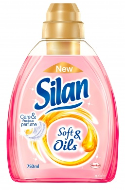 Silan Soft&Oils Pink aviváž 750ml