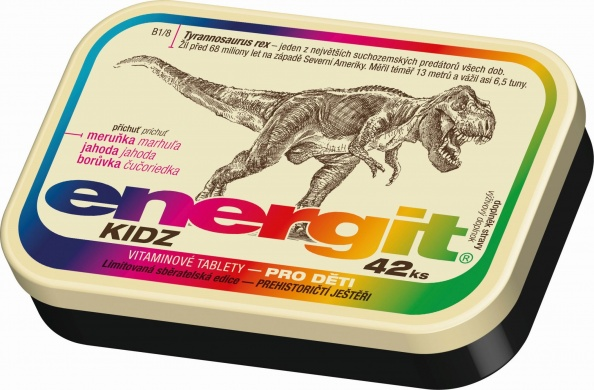 Energit Vitaminové tablety Kidz, 42ks