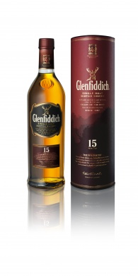 Glenfiddich 15YO Single Malt whisky 0,7l