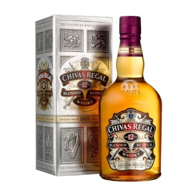 Chivas Regal Whisky 12 letá 0,7l