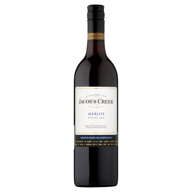 Jacob's Creek Merlot 2010 červené víno 750ml
