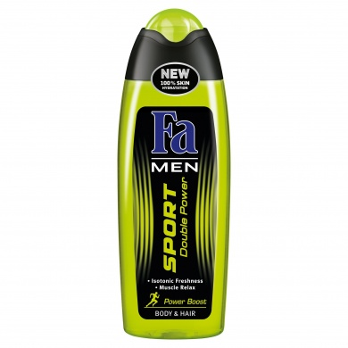 Fa Men Sport Double Power Boost sprchový gel 250ml