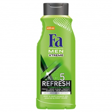 Fa Men Xtreme Refresh 5 sprchový gel 400ml