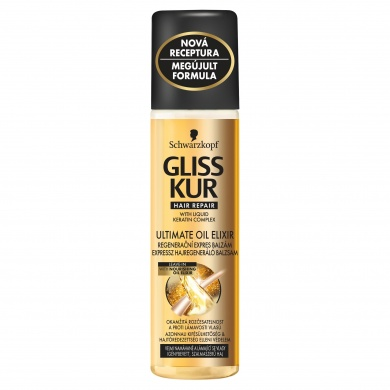 Gliss Kur Ultimate Oil Elixir regenerační expres balzám 200ml