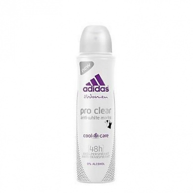 Adidas For Women Action 3 Pro clear deodorant antiperspirant ve spreji 150ml