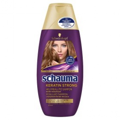 Schauma šampon Keratin Strong 250ml