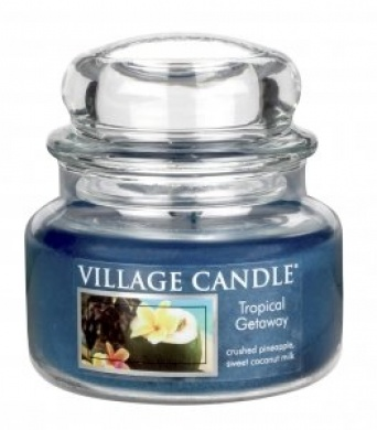Village Candle Svíčka ve skle víkend v tropech (tropical getaway), 269g