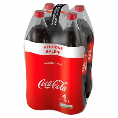 Coca-Cola Multipack, PET 4x1,75l