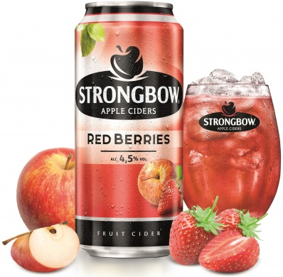 Strongbow Red Berries (4,5%), plech 0,44l