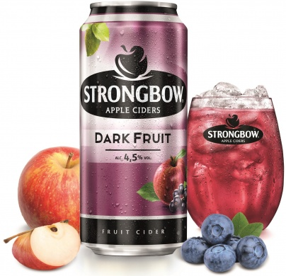 Strongbow Dark Fruit (4,5%), plech 0,44l