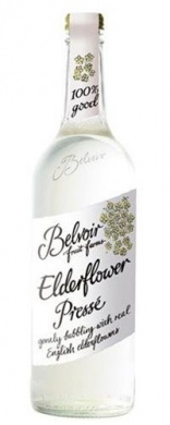 Belvoir Fruit Farms Organic Elderflower Presse, sklo 0,75l