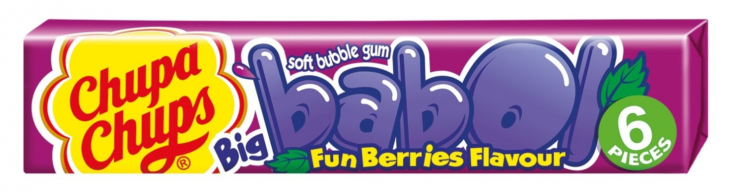 Chupa Chups Big Babol Fun Berries 27,6g