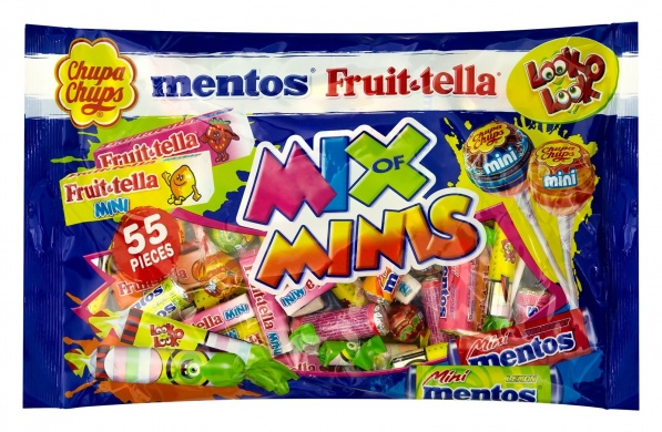 Chupa Chups Mix of Minis 508g