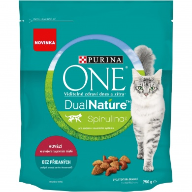 Purina One Dual Nature Adult Beef 750g