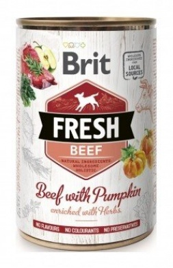 Brit Fresh Beef with Pumpkin 400g
