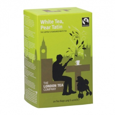 Fairtrade Bílý čaj s hruškou White tea & Pear Tatin 20ks