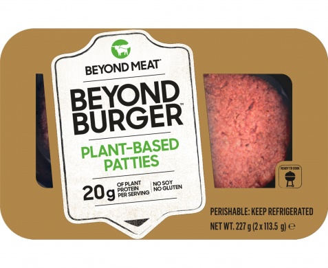 Beyond Meat veganský burger (2ks) 227g