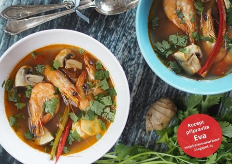Polévka Tom Yum