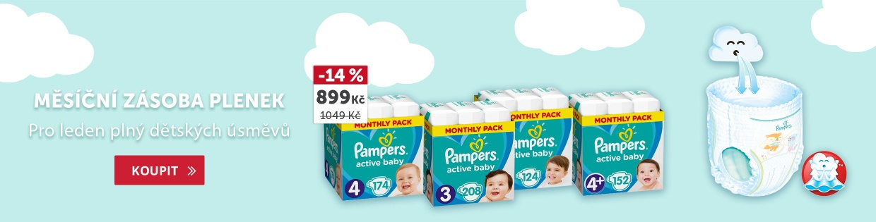 Zásoba Pampers